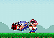 Sonic: Lost In Mario World