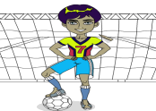 Soccer Player Coloring