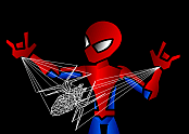 Spiderman Web Art