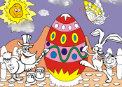 Easter Egg Coloring Game