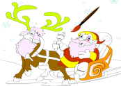 Santa Clause Coloring