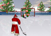 Santa Hockey Game