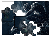Black Spiderman Jigsaw Puzzle